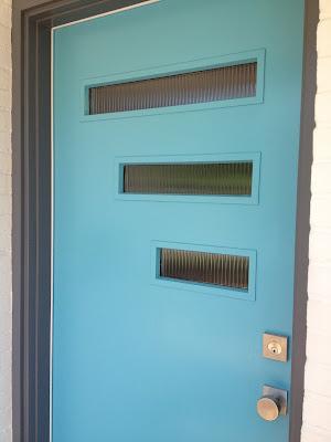 blue-front-door-mid-century-modern-door